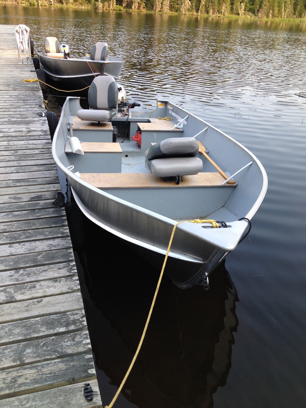 16 Lund SSV On Red Lake With A Honda 20hp Electric Start Power Tilt Motor